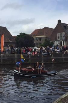 Zo'n 200 oude schepen varen Hasselt binnen tijdens Hassailt