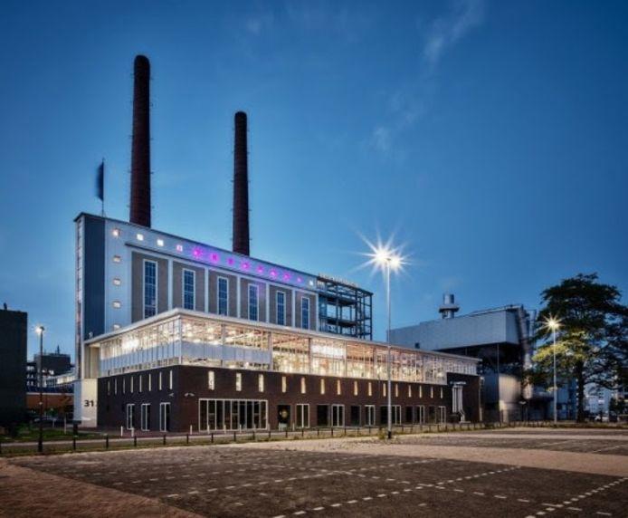 De voormalige energiecentrale op Strijp-T waarin het hoofdkantoor van Van Berlo huist.