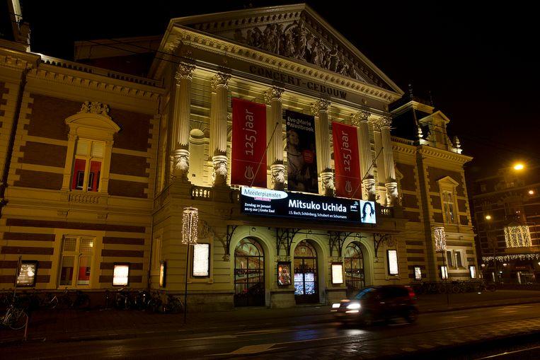 Exterieur van het Concertgebouw. Beeld ANP