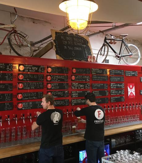 Nieuwe aandelen Brouwerij Frontaal gaan rap van de hand