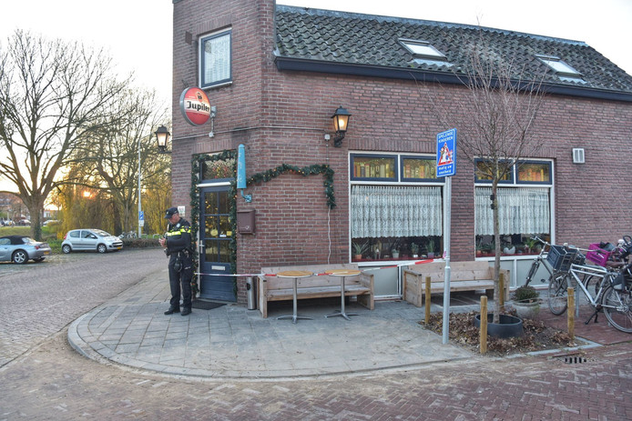 Overval op café in Breda