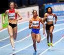 Madiea G., hier als atlete uitkomend voor Nederland