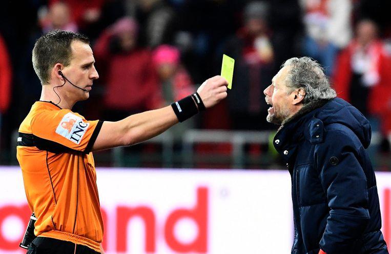 Preud'homme kreeg vorige week zijn vijfde gele kaart van het seizoen en is voor één wedstrijd geschorst.
