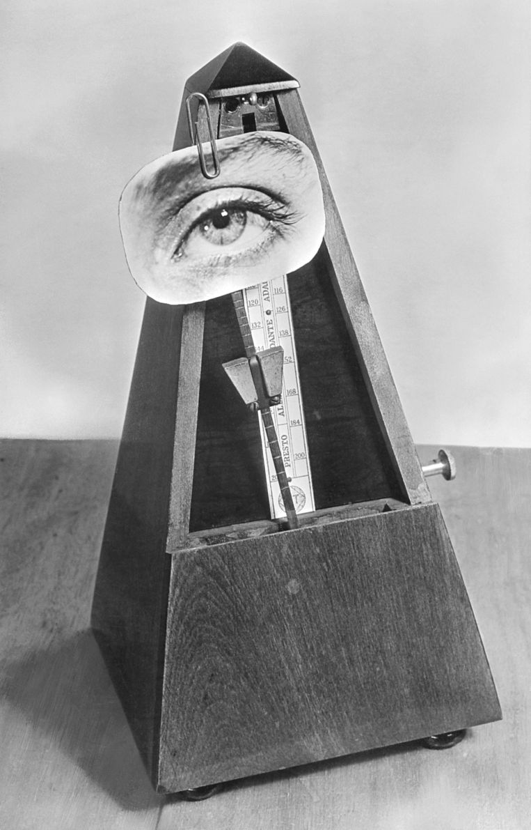 Indestructable Object Beeld Foto Man Ray Trust / ADAGP / c/o Pictoright Amsterdam 2015