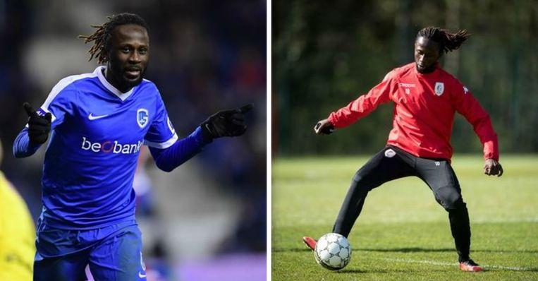 Dieumerci Ndongala: in de kwartfinales nog bij Standard, nu treft hij Rouches in de finale met Genk.