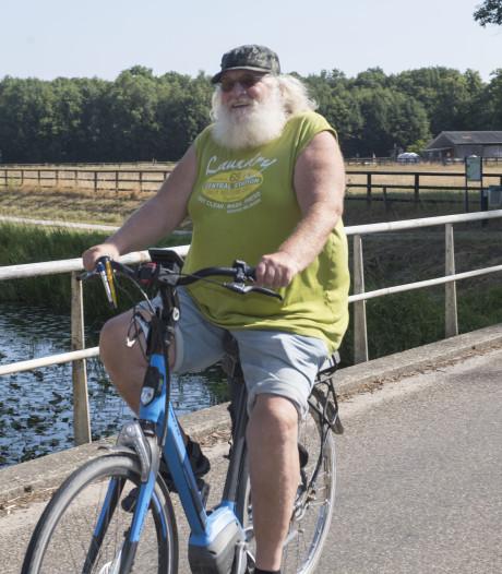 96-jarige Henk kijkt met fietsvierdaagse Borculo niet op een paar kilometers