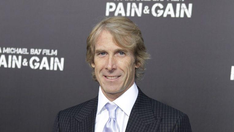 Regisseur Michael Bay bij de première van zijn film 'Pain & Gain' Beeld reuters
