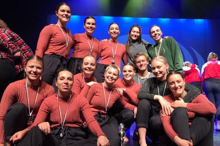 K-Creation schitterde tijdens de kwalificatiewedstrijden van Dance Waves in cultureel centrum de Meent.