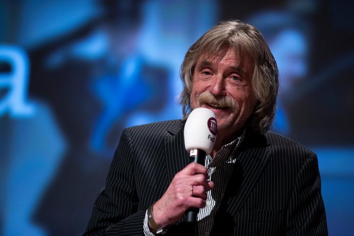 Johan Derksen treedt op zaterdag 15 december op in het HOFtheater in Raalte.