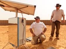 Voor gek verklaarde Nederlander bewijst dat hij water in de woestijn kan maken