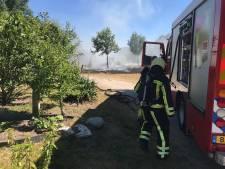 Brandweer Twente had afgelopen maand handen vol aan buitenbranden