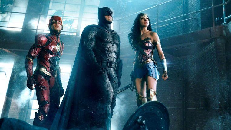 Justice League werd een grabbelton van al dan niet bekende helden en invalshoeken Beeld Justice League