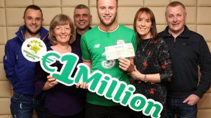 En dan wint hij ook nog eens de lotto: Britse profvoetballer mag miljoen euro bijschrijven op de rekening