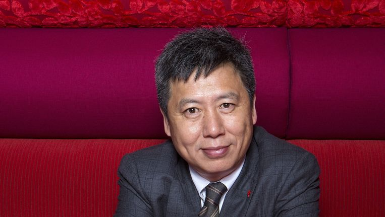 De Amerikaanse hoogleraar Yong Zhao werd onlangs uitgeroepen tot een van de meest invloedrijke onderwijsdenkers in de Verenigde Staten. Beeld Jörgen Caris