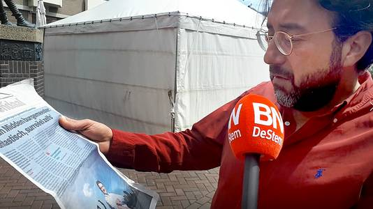 Inwoners wensen nieuwe Roosendaalse burgemeester het beste, Murat Durgun Still uit video Alfred de bruin