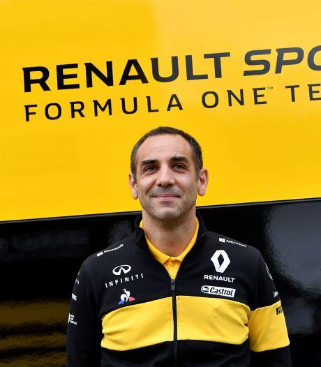 Abiteboul weg bij Renault, niet mee naar Alpine