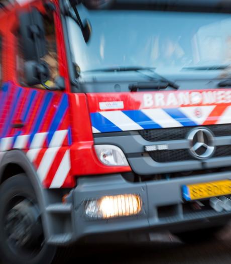 Autobrand aan Zwolscheweg in Elburg