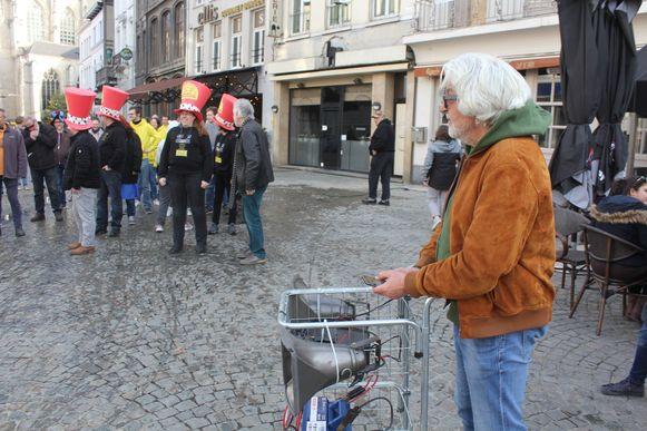 Jacquy De Pauw van De Losse Groepen.