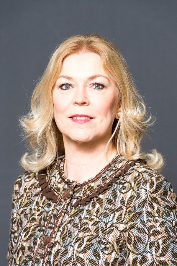 Portret van Madeleine van Toorenburg Tweede Kamerlid voor het CDA. ANP LEX VAN LIESHOUT