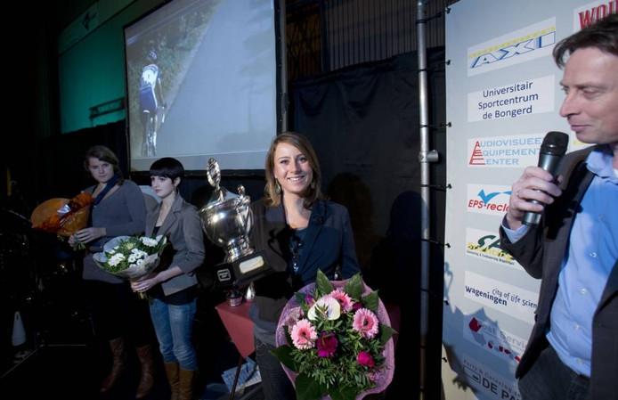 Annemiek van Vleuten is blij met haar uitverkiezing. foto Herman Stöver