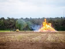 Paasbult Dalmsholte gaat met toestemming toch in vlammen op: scheelt 800 euro stortkosten