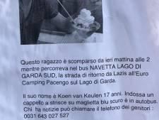 Helikopter zoekt boven Gardameer naar vermiste jongen uit Soest
