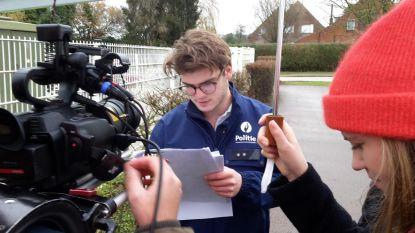 Studenten maken film over politie