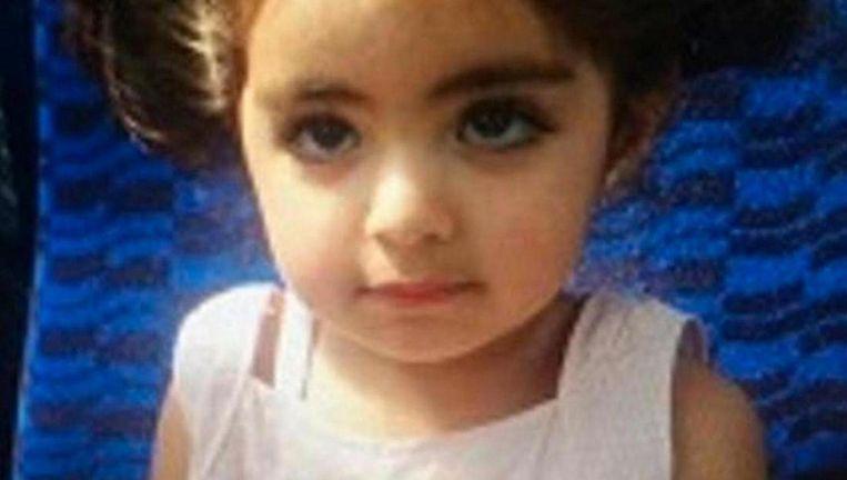De 2-jarige Insiya werd ontvoerd uit de woning van haar oma in Watergraafsmeer Beeld Politie Amsterdam
