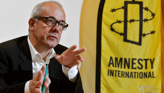 Philippe Hensmans, directeur de la section belge francophone d'Amnesty International.