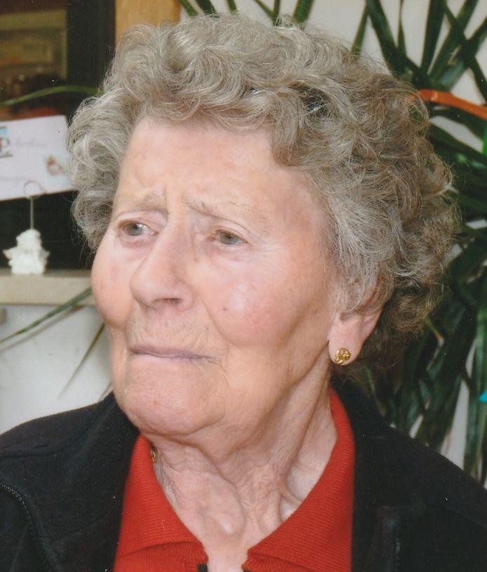 Anna Vangheluwe (97) bezweek aan het coronavirus.