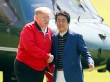 Trump niet bezorgd om rakettesten Noord-Korea