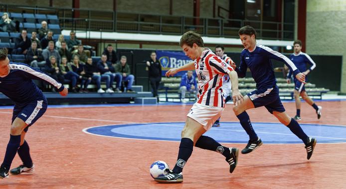 ODC won bij de heren vorig jaar de Meierijcup in sporthal Theereheide in Sint-Michielsgestel.