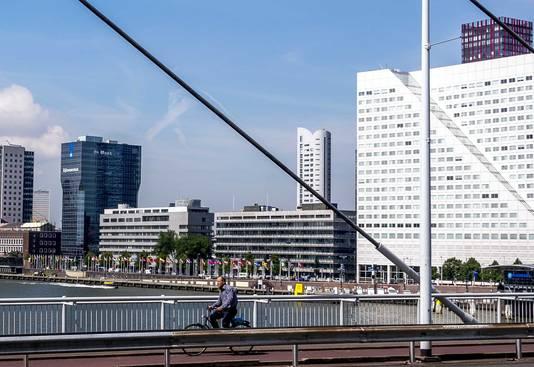 De kantoorpanden uit de jaren '60 zullen spoedig plaatsmaken voor hoge woontorens.