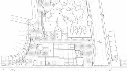 """Masterplan Erembodegem: """"Omgeving van de kerk wordt autoluw voetgangersgebied, 88 parkeerplaatsen verdwijnen"""""""