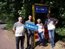 Briefkaart tegen gaswinning Waalwijk