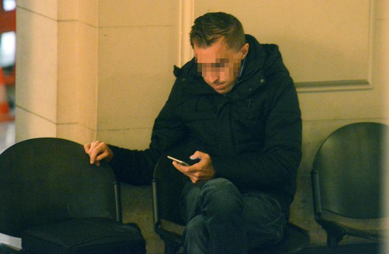 Jens D. tijdens zijn proces in oktober in de Leuvense rechtbank.