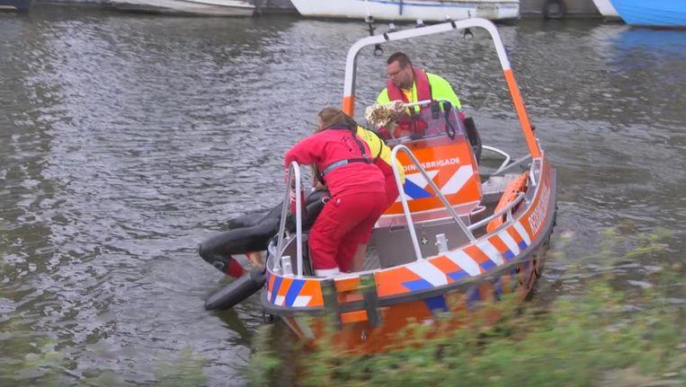 De brigade is op zoek naar meer vrijwilligers Beeld De Amsterdamse Reddingsbrigade