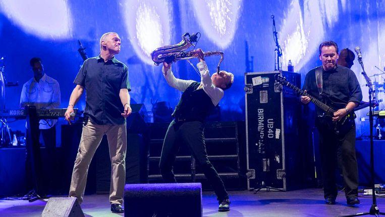 UB40 tijdens een optreden in juli in Spanje Beeld epa