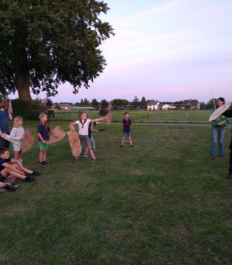De scouts in Elshout leven weekje in 'bubbel'