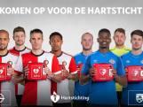Spelers Feyenoord en PSV zondag met AED het veld op