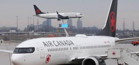 Air Canada in de problemen door 737 MAX