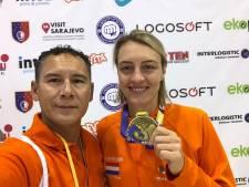 Nina Meppelder uit Kattendijke pakt vierde Europese titel taekwondo
