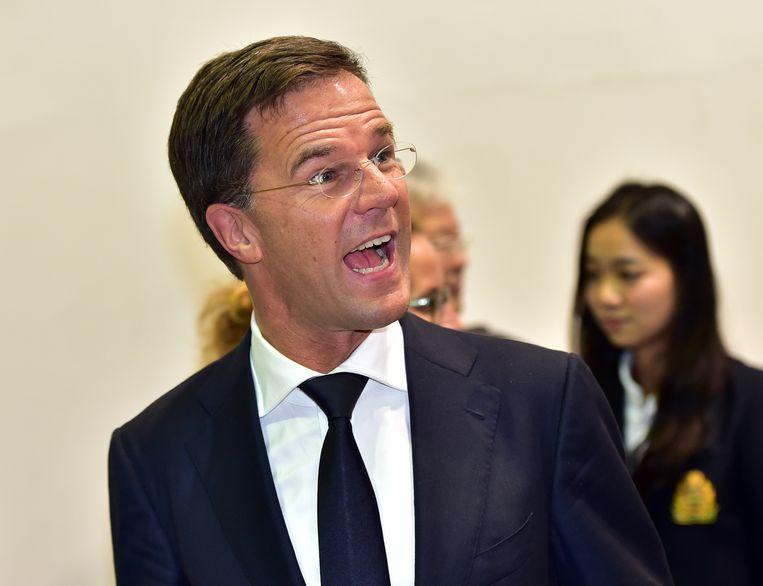 Premier Mark Rutte.  Beeld AFP