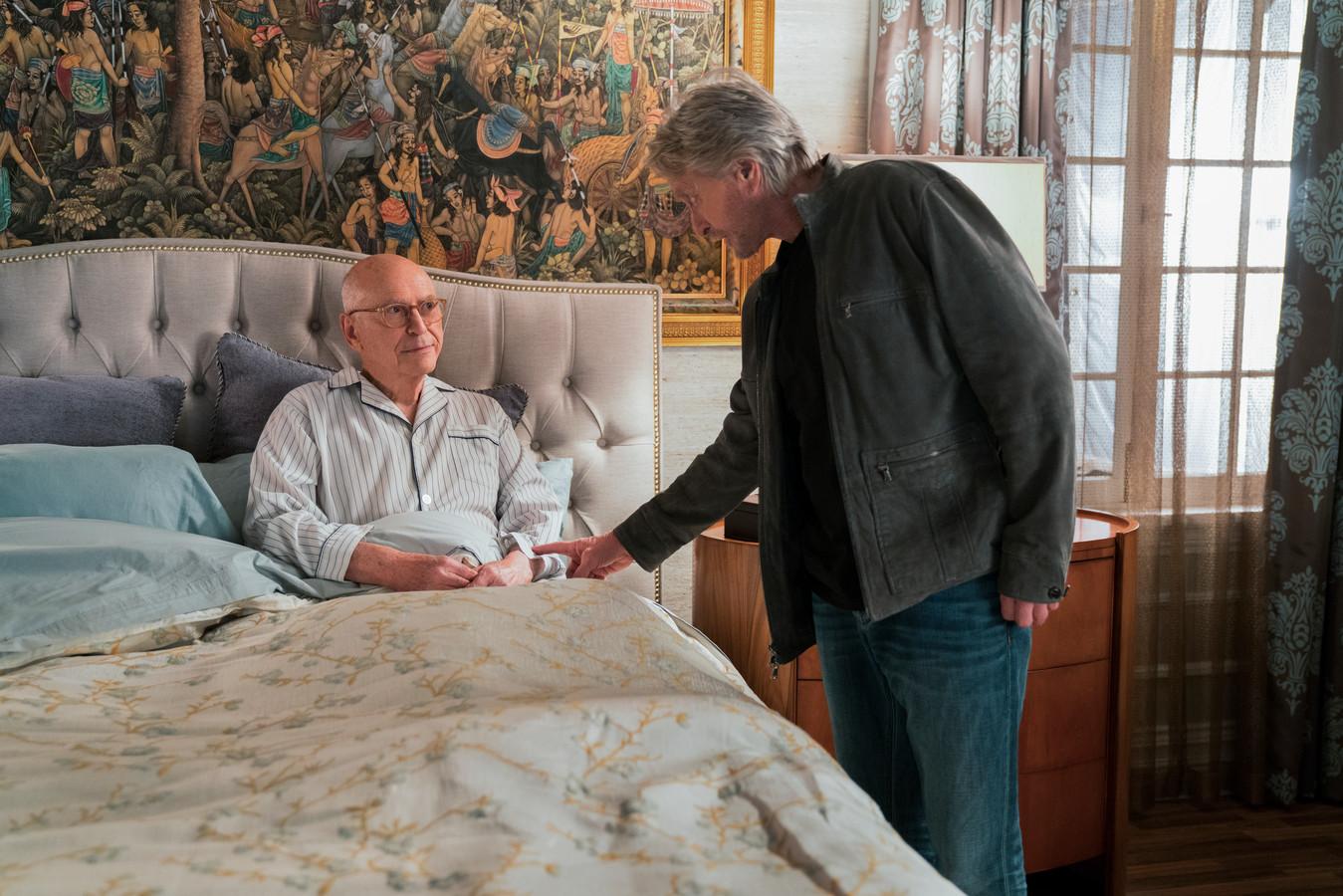 Michael Douglas en Alan Arkin in The Kominsky Method.
