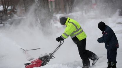 Sneeuwstorm teistert grote delen van de VS