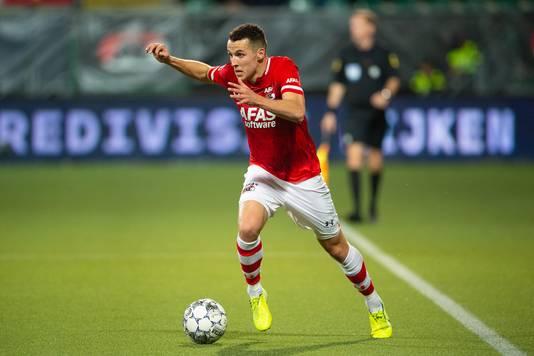 Oussama Idrissi uit Bergen op Zoom speelde inmiddels zeven interlands voor Marokko.