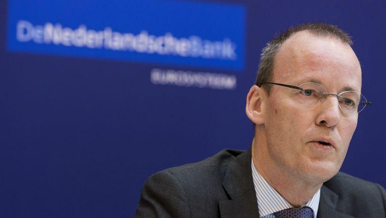 De president van de Nederlandse Bank, Klaas Knot. Beeld ANP