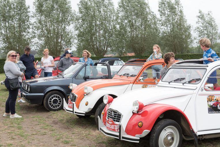 Er waren 200 deelnemers aan de Kruishoutem Classic Tour.