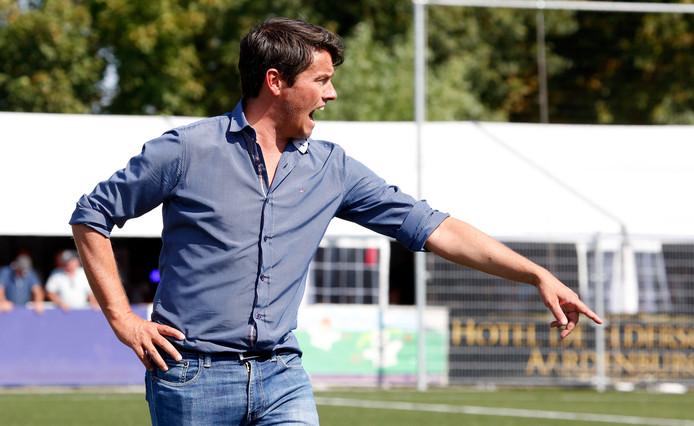 Trainer Lieven Gevaert haalde zaterdag uit met Hoek