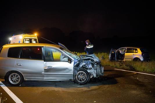 Ongeval Burgemeester Letschertweg in Tilburg